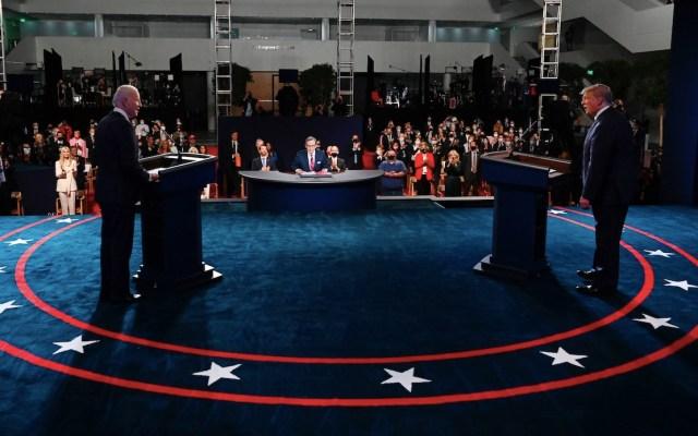Segundo debate presidencial en EE.UU. será virtual, anuncian organizadores; Donald Trump dice que no acudirá si es bajo ese formato - Foto de EFE