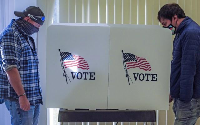 Tribunal Supremo de Texas rechaza intento de republicanos por anular 127 mil votos anticipados - Elecciones en Estados Unidos. Foto de EFE
