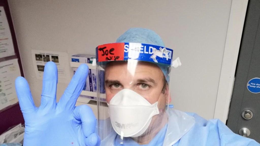 Voluntario de vacuna de AstraZeneca contra COVID-19 se contagia de coronavirus - Foto de @RoaringNurse