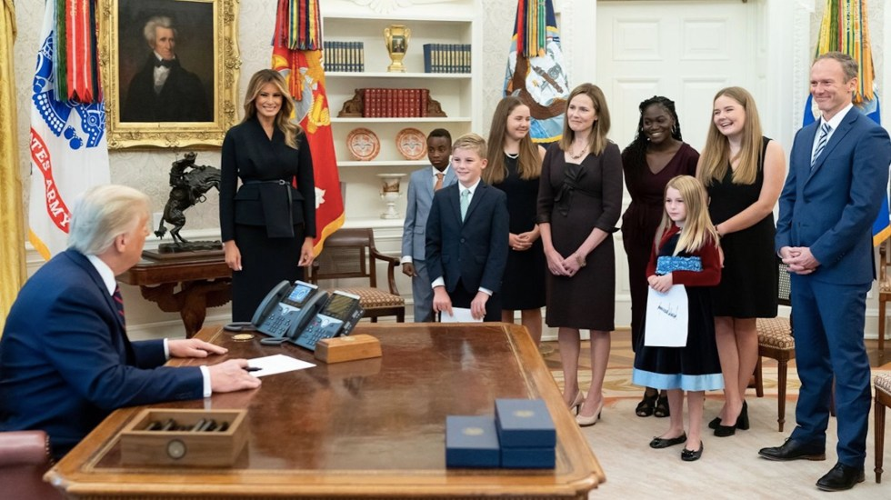 """Tuvimos """"un evento de superpropagación"""" en la Casa Blanca, señala Fauci sobre contagio de funcionarios - Foto de White House"""