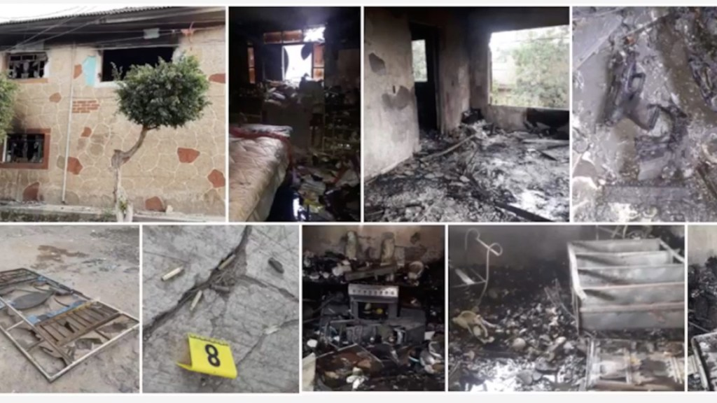 Al menos seis muertos y dos heridos graves por agresión con granadas contra vivienda en Tonalá, Jalisco - Foto de Fiscalía Jalisco