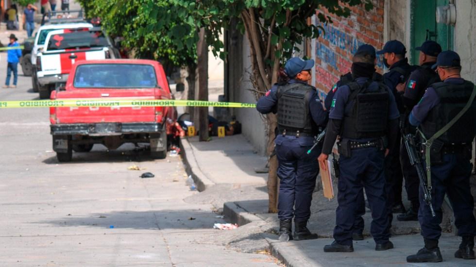 Suman 96 mil 752 homicidios dolosos en lo que va del sexenio - Homicidios dolosos en el país. Foto de EFE/Archivo