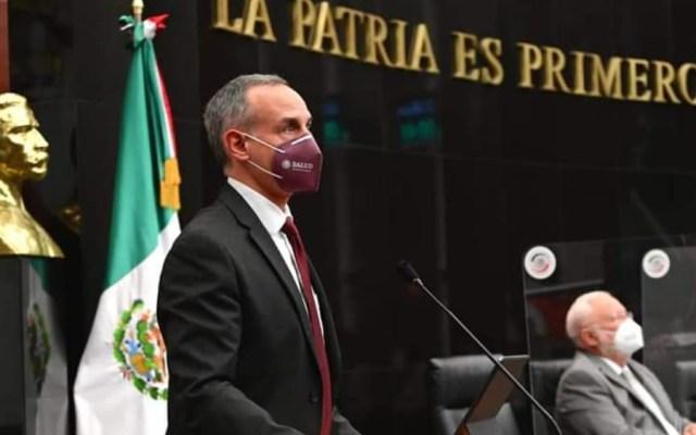 López-Gatell espera que no sea necesario un nuevo confinamiento por rebrotes de COVID-19 - Foto de @HLGatell