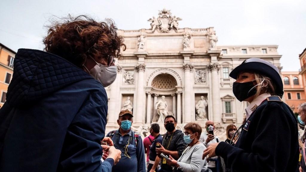 Italia impone nuevas medidas sanitarias ante aumento de contagios de COVID-19 - Foto de EFE