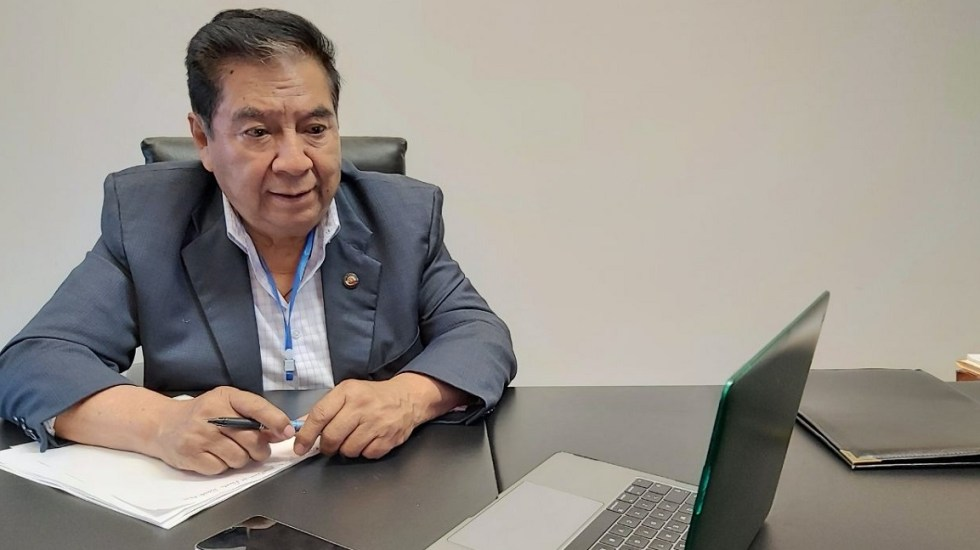 Murió el senador por Morena, Joel Molina Ramírez - El senador Joel Molina. Foto de @JoelMolinaRa
