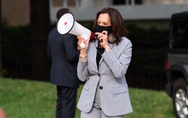 Kamala Harris enfrenta con cautela su debate contra Mike Pence - Foto de Shaw University
