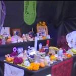 Instalan ofrenda en Mercado de la Lagunilla