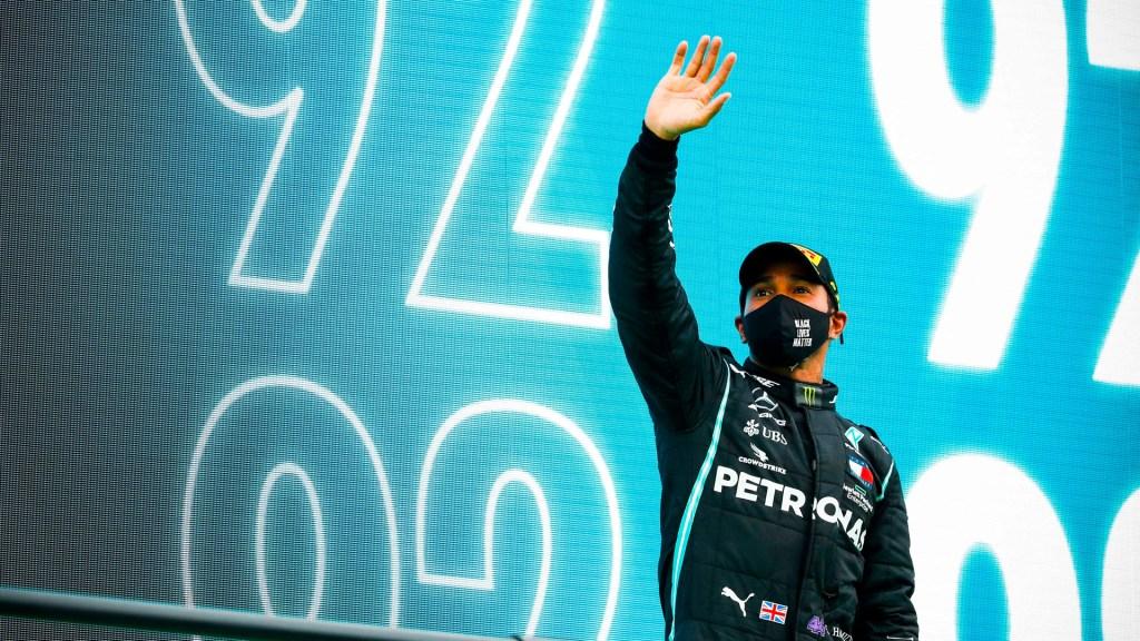 Hamilton bate récord de Schumacher en GP de Portugal; 'Checo' Pérez finaliza séptimo. Noticias en tiempo real