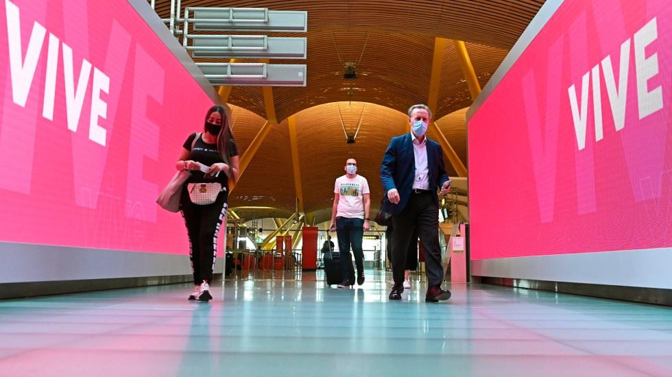 Parlamento Europeo da luz verde al certificado digital de COVID-19 - Madrid Aeropuerto Barajas covid19 coronavirus certificado
