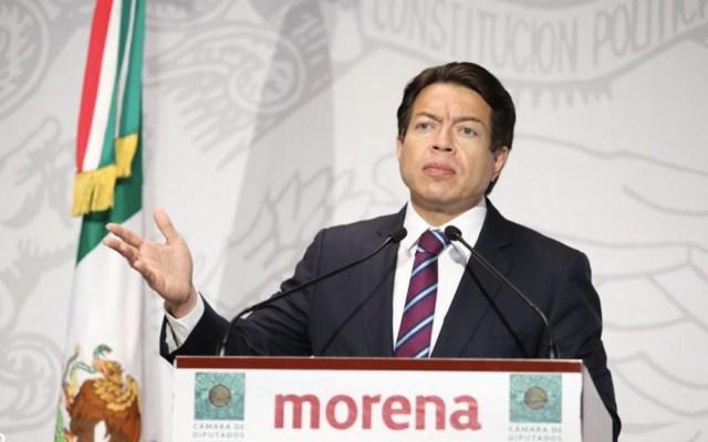 Morena tendrá, con nueva dirigencia, una enorme legitimidad, asegura Mario Delgado - Foto de Twitter