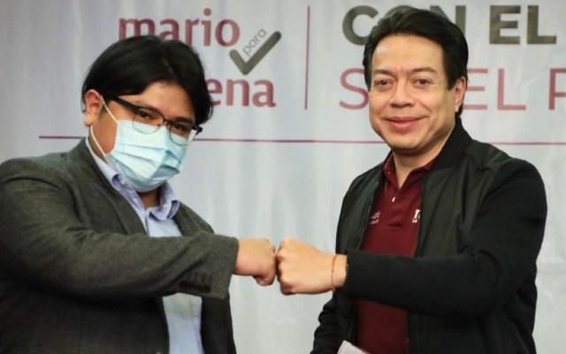 Gibrán Ramírez manifiesta apoyo a Mario Delgado en la dirigencia por Morena - Foto de Mario Delgado