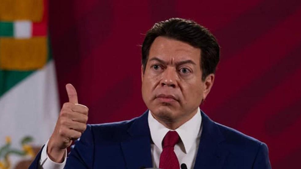 Pide Mario Delgado agilizar tercera encuesta para renovar dirigencia de Morena - Foto de @mariodelgadocarrillo