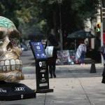 Por pandemia, reitirarán 'Mexicráneos' de Paseo de la Reforma