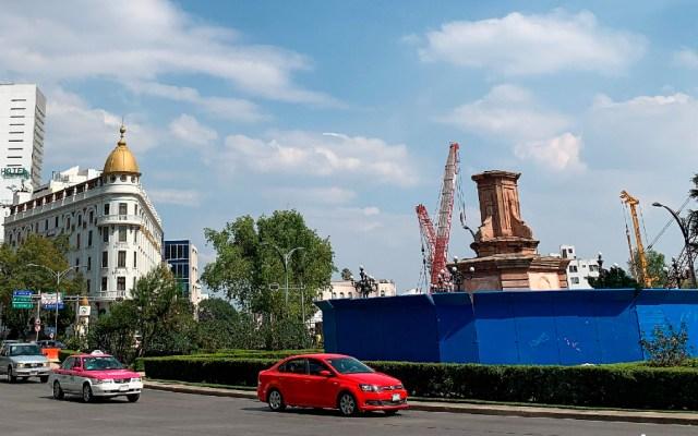 INAH hará análisis y restauración de la estatua de Cristóbal Colón, afirma Secretaría de Cultura federal - Foto de EFE