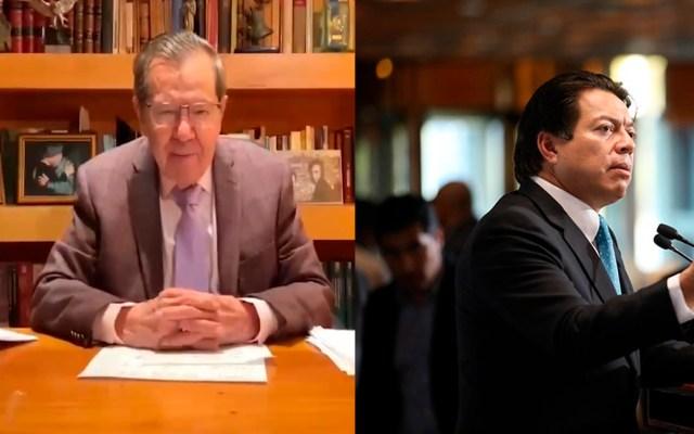 Muñoz Ledo y Delgado Carrillo escalan conflicto para dirigir Morena con denuncias ante Fiscalía Electoral - Foto Especial