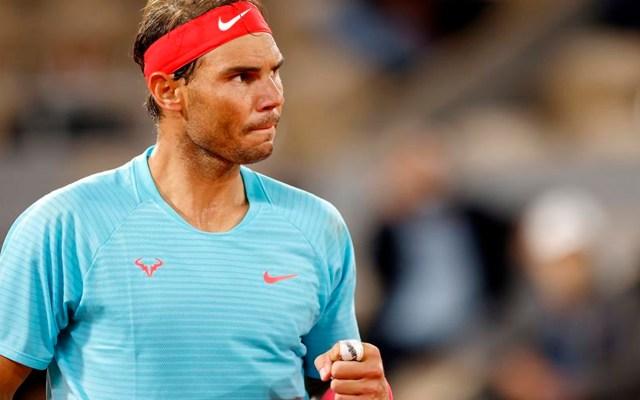 Rafael Nadal derrota al italiano Stefano Travaglia y se clasifica a octavos de final de Roland Garros - Rafael Nadal. Foto EFE