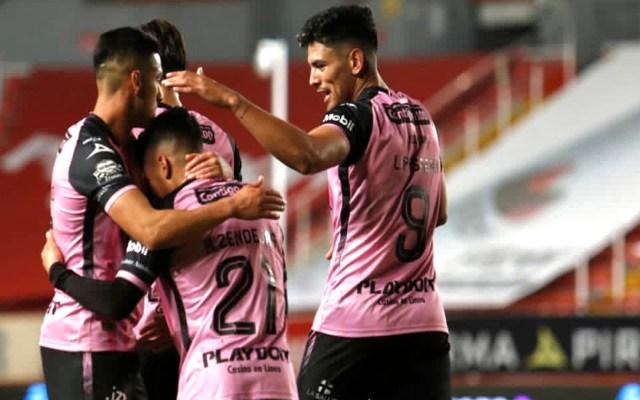 Necaxa vence a Toluca con gol de Zendejas en los últimos minutos - Foto Twitter @ClubNecaxa