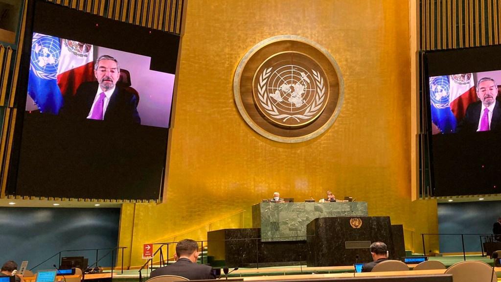 ONU advierte que no se cumplirán los objetivos de la Agenda 2030. Foto Twitter @MexOnu