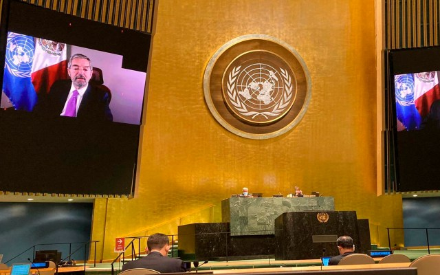 México se une al Consejo de Derechos Humanos de la ONU - Foto Twitter @MexOnu
