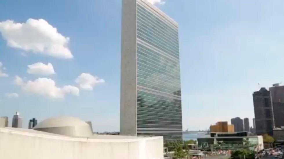 La ONU tiene que intervenir porque parece un florero: AMLO ante falta de acceso a vacunas de COVAX - Foto Twitter @ONU_es