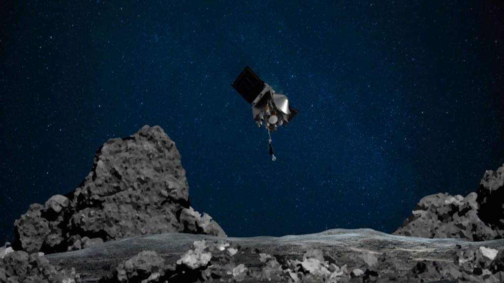 NASA aterriza nave en asteroide por primera vez en su historia - Foto NASA