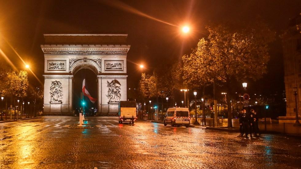 Macron anuncia un nuevo confinamiento de un mes en Francia - Foto de EFE