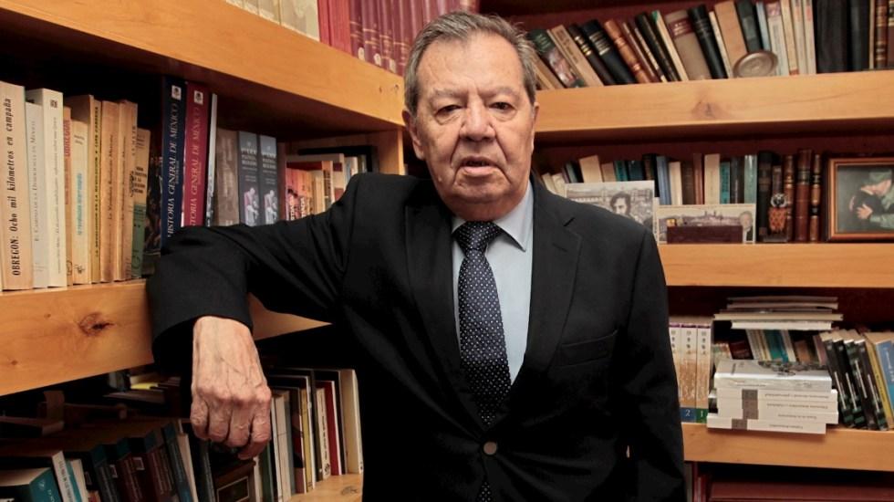 Muñoz Ledo desea pronta recuperación por COVID-19 a Mario Delgado; pide seguir trabajando por la Cuarta Transformación - Porfirio Muñoz Ledo Morena