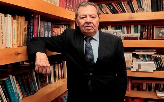 """Porfirio Muñoz Ledo percibe """"débil"""" a Morena y menos democrática en los procesos para repartir candidaturas - El diputado federal Porfirio Muñoz Ledo. Foto EFE"""