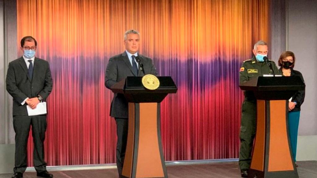 Autoridades de Colombia capturan a cinco sospechosos en masacres de Samaniego y Jamundí - Foto Twitter @DirectorPolicia