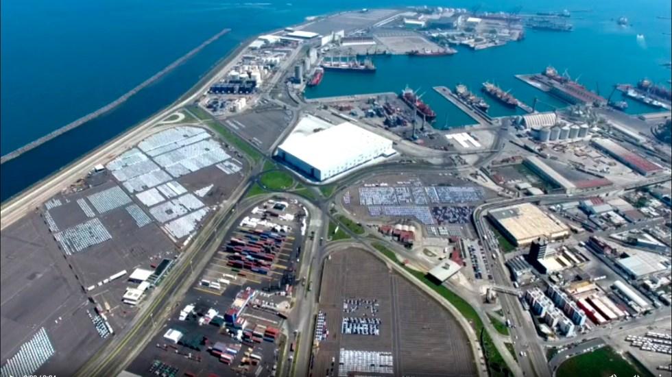 Aprueba Cámara de Diputadosque Marina controle los puertos del país; proyecto va al Senado - Puerto de Veracruz. Foto Apiver