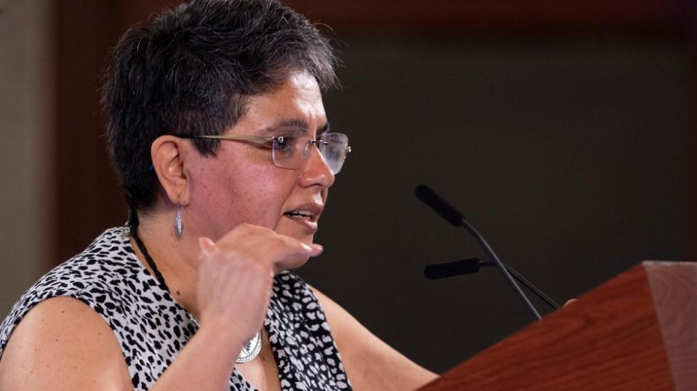 Raquel Buenrostro, jefa del SAT, da positivo a COVID-19 - Foto de lopezobrador.org.mx