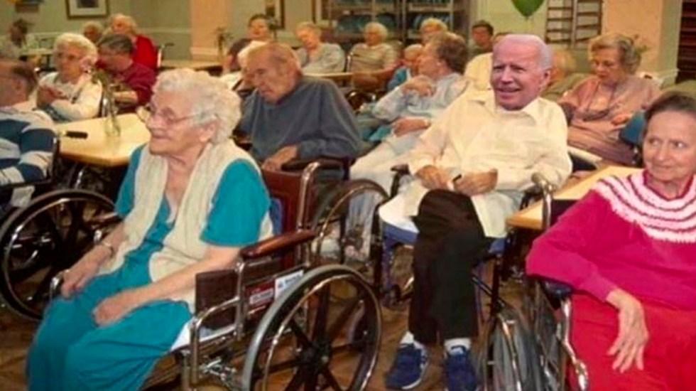 """""""Joe Biden para residente"""", Donald Trump se burla de la edad de su rival demócrata - Foto Twitter @realDonaldTrump"""