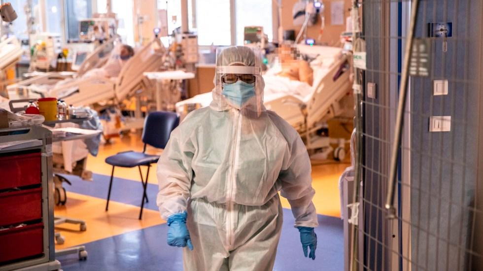 Europa sigue rompiendo récords de contagios y muertes por COVID-19 - Foto de EFE
