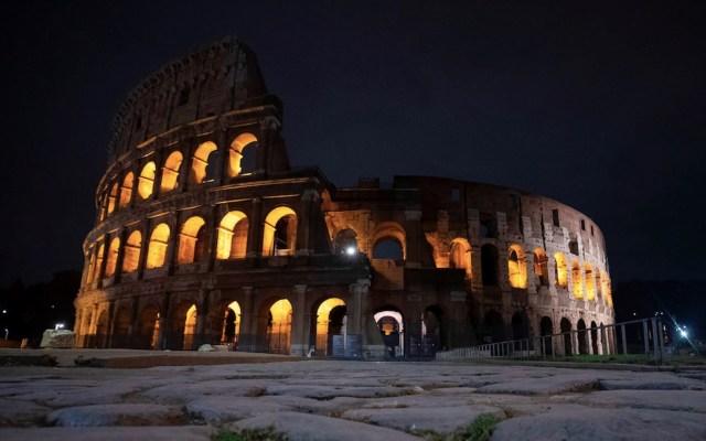 Ante el incremento en el número de contagios de COVID-19, Roma impuso toque de queda - Foto de EFE