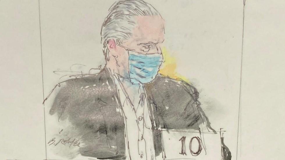 El general Salvador Cienfuegos se declara no culpable por lavado de dinero y narcotráfico ante Corte de Nueva York - Salvador Cienfuegos Sedena detenido Los Ángeles