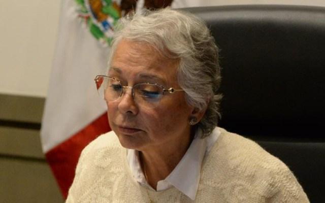 Mantendrá Sánchez Cordero diálogo personal con gobernadores de la Alianza Federalista - Secretaria de Gobernación, Olga Sánchez Cordero. Foto de @M_OlgaSCordero