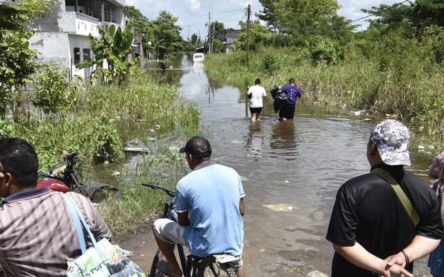 Lluvias en Tabasco afectan casi a un cuarto de la población - Tabasco daños Gamma Tormenta tropical