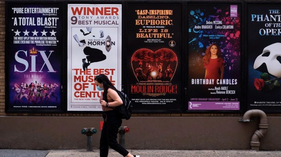 Teatros de Broadway continuarán cerrados al menos hasta el 30 de mayo de 2021 - Foto de EFE