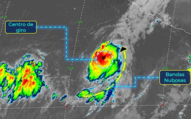 Se forma tormenta tropical Norbert en el Pacífico mexicano - Foto de SMN