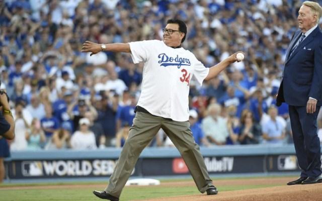 El 'Toro' Valenzuela reacciona al pase de Dodgers a la Serie Mundial - Foto de @HelenaMaravilla