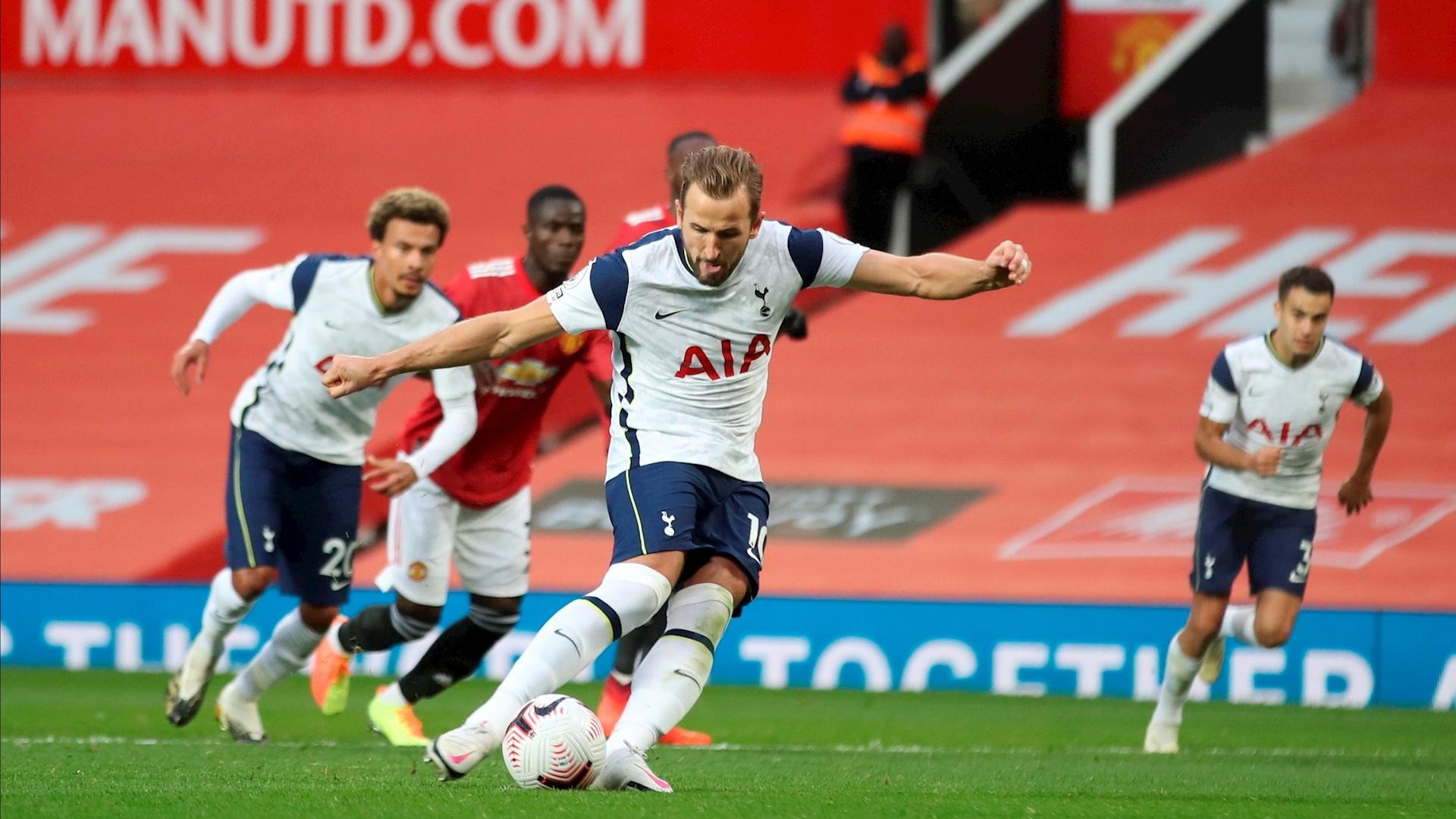Tottenham partido Manchester United futbol 04102020 2