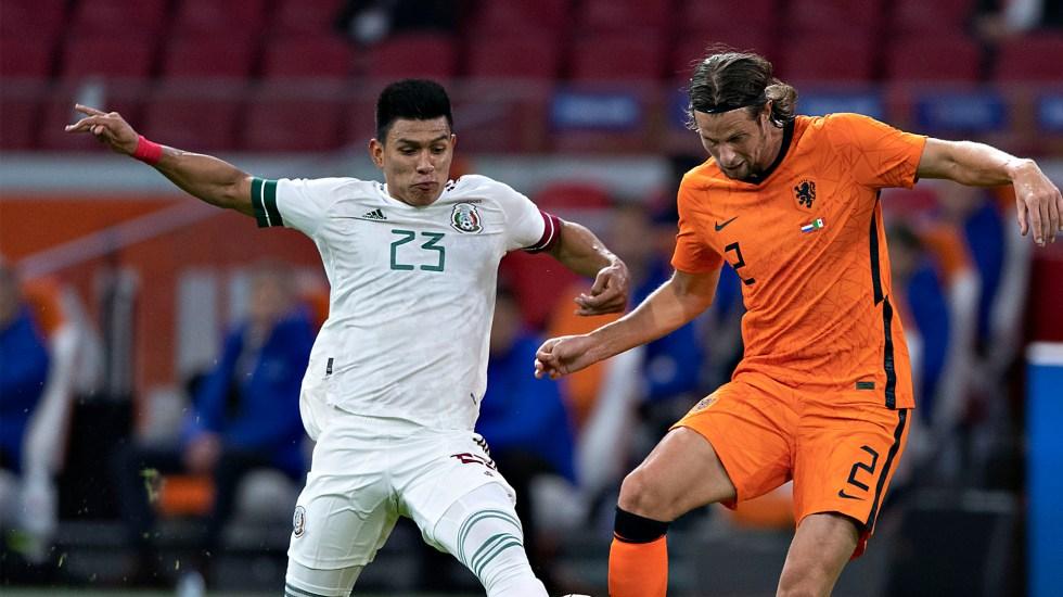 Con gol de Raúl Jiménez, México derrota a domicilio a Holanda en el inicio de la gira por Europa - La Selección mexicana se lleva la victoria ante Holanda. Foto Twitter @miseleccionmx