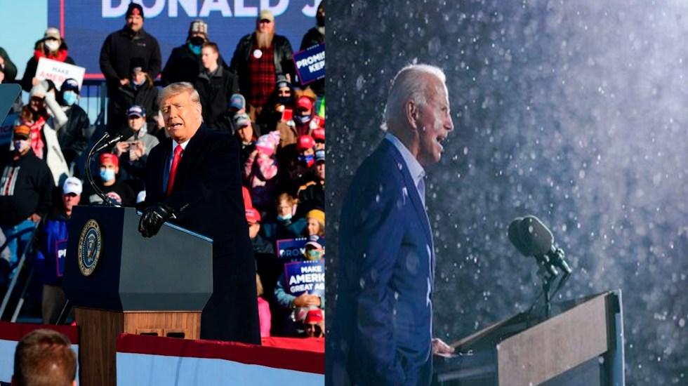 Trump y Biden se lanzan a la conquista del medio oeste de Estados Unidos; región vital en las elecciones - Foto Especial