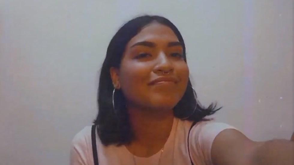 Detienen en Quintana Roo a dos presuntos implicados en feminicidio de Alexis - Alexis. Captura de pantalla / Facebook