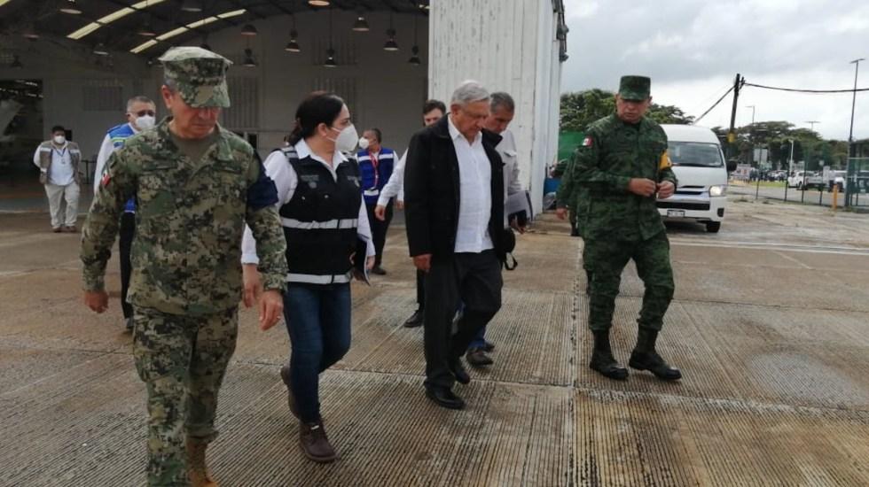 Llega López Obrador a Tabasco; realizará recorrido por Macuspana - Foto de CNPC