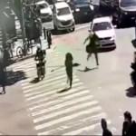 #Video Así fue la agresión a tiros afuera de juzgados en avenida Patriotismo