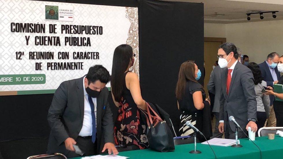Avalan Comisiones de San Lázaro el Presupuesto de Egresos 2021 - Foto de @Marurojasreport
