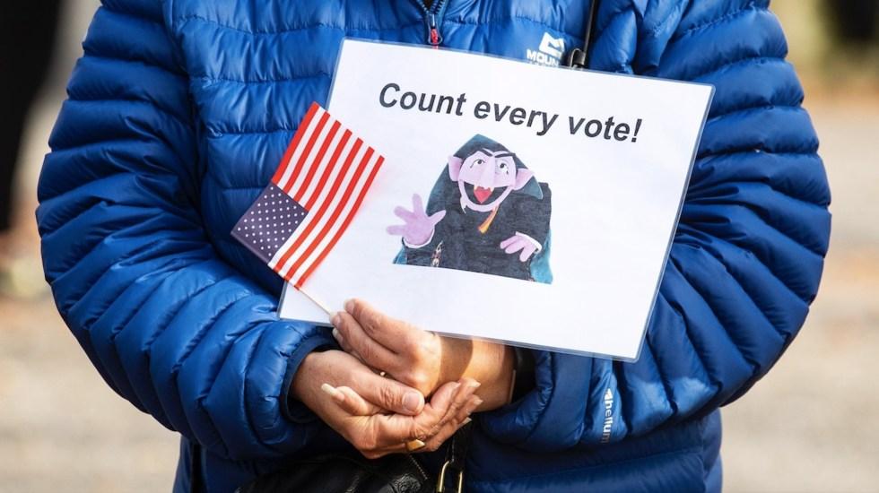 A cuatro días de las elecciones en EE.UU. ¿qué falta por contabilizar en los estados clave? - Foto de EFE