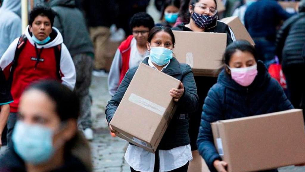 Estados Unidos rompe récord de contagios de COVID-19 por tercer día consecutivo - Foto EFE