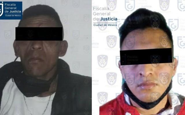 Confirma FGJ capitalina detención de dos presuntos implicados en asesinato de adolescentes - Detenidos por asesinato de adolescentes mazahuas en CDMX. Foto de FGJ-CDMX